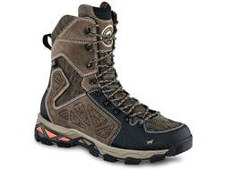 "Irish Setter Ravine 9"" Uninsulated Waterproof Hunting Boots Leather/Nylon Stone Men's 10.5 D"