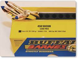 Buffalo Bore Ammunition 458 SOCOM 300 Grain Barnes TSX Triple Shock Box of 20