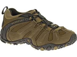 "Merrell Chameleon Prime Stretch 4"" Waterproof Hiking Shoes Leather/Mesh Canteen Men's 8.5 D"