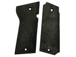 Vintage Gun Grips Star Militia Polymer Black