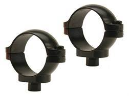 """Leupold 1"""" Quick-Release Rings Gloss Low"""