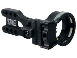 "Spot-Hogg Wrapped Right On 5-Pin Bow Sight .019"" Pin Diameter Large Guard Left Hand Aluminum Black"