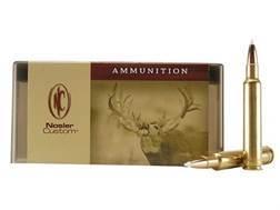 Nosler Custom Ammunition 300 Weatherby Magnum 200 Grain AccuBond Spitzer Box of 20