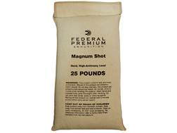 Federal Magnum Lead Shot 25 lb Bag
