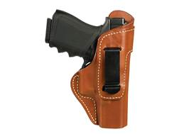 BLACKHAWK! Inside the Waistband Holster Right Hand Belt Clip Sig Sauer P250, P320 Leather Brown