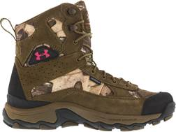 "Under Armour UA Speed Freek Bozeman 8"" Uninsulated Waterproof Hunting Boots Leather and Nylon Rea..."