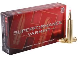 Hornady Superformance Varmint Ammunition 204 Ruger 40 Grain V-Max Box of 20