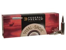 Federal Premium Vital-Shok Ammunition 270 Winchester Short Magnum (WSM) 140 Grain Trophy Bonded T...