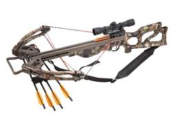 SA Sports Vendetta Crossbow Package with 4x32 Multi-Range Scope NEXT G2 Camo