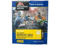 Mountain House Spicy Southwest Breakfast Hash Freeze Dried Food 3.88 oz