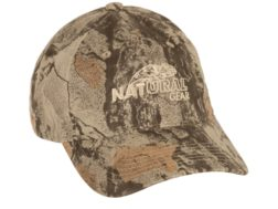 Natural Gear 6 Panel Logo Cap Cotton Natural Gear Natural Camo