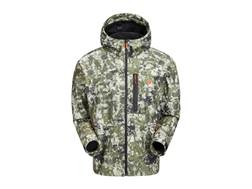 Plythal Men's Monsoon 2.0 Waterproof Rain Jacket Polyester Digital Forest Camo Large