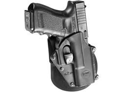 Fobus Digital Path Belt Holster Right Hand Glock 17, 19, 22, 23, 34, 35 Polymer Black