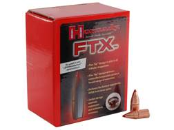 Hornady FTX Bullets 25 Caliber (257 Diameter) 110 Grain Flex Tip eXpanding Box of 100