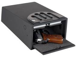 GunVault Standard MiniVault Personal Safe with Electronic Lock Black