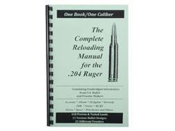 "Loadbooks USA ""204 Ruger"" Reloading Manual"