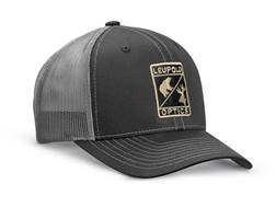 Leupold Optics Trucker Hat Polyester Black/Charcoal