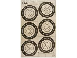 National Target International Bench Rest Shooters Target IBS 200 YD Hunter Rifle Paper Package of...