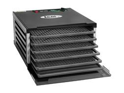 LEM 5 Tray Dehydrator with Digital Timer Aluminum and Polymer