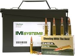 IMI Ammunition 7.62x51mm NATO 150 Grain Full Metal Jacket Ammo Can of 250 (5 boxes of 50)