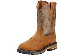 """Ariat Workhog 11"""" WST Work Boots Leather"""