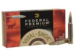 Federal Premium Vital-Shok Ammunition 338 Winchester Magnum 200 Grain Trophy Bonded Tip Box of 20