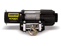 Champion 4700 lb Winch Kit with 38' Galvanized Cable