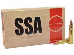 Silver State Armory Ammunition 6.8mm Remington SPC 110 Grain Nosler AccuBond Box of 20