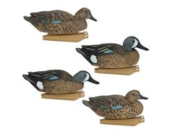 GHG Pro-Grade Pre-Texas Rigged Blue-Winged Teal Duck Decoy Pack of 6