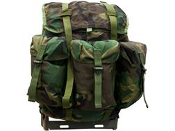 Military Surplus Medium ALICE Pack Complete with Frame Assembly Nylon