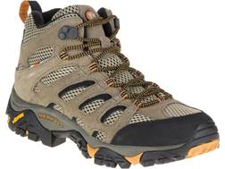 "Merrell Moab Vent Mid 5"" Hiking Boots Leather and Mesh Men's"