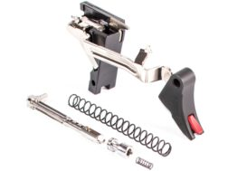 ZEV Technologies PRO Ultimate Trigger and Action Kit Curved Face Glock 17, 19, 26, 34 Gen 4 Aluminum