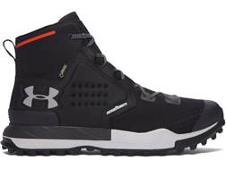 "Under Armour UA Newell Ridge Mid GORE-TEX 6"" Waterproof Hiking Boots Synthetic Black Men's"