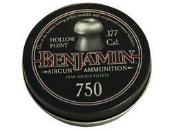 Benjamin Airgun Pellets 177 Caliber 7.9 Grain Hollow Point Tin of 750