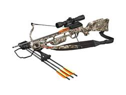 SA Sports Fever Crossbow Package with 4x32 Multi-Range Scope Boneyard Legends Camo