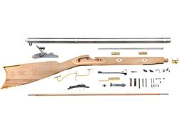 "Traditions Prairie Hawken Muzzleloading Rifle Kit 50 Caliber Percussion 28"" Blue Barrel Select Ha..."