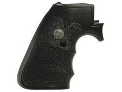 Pachmayr Gripper Decelerator Grips with Finger Grooves Ruger New Model Super Blackhawk Rubber Black