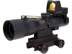 Trijicon Compact ACOG Rifle Scope 3x 30mm Dual-Illuminated Horseshoe/Dot 5.56x 45mm 62gr Ballisti...