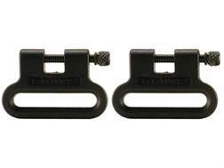 The Outdoor Connection Brute Sling Swivels Polymer Black (1 Pair)