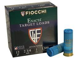 "Fiocchi Interceptor Spreader Ammunition 12 Gauge 2-3/4"" 1 oz #8 Shot"