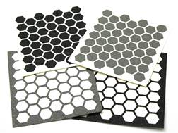 Hexmag Grip Tape Die Cut Adhesive Hex Sheet