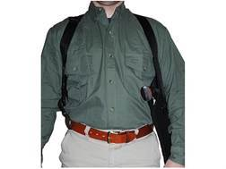 Uncle Mike's Scoped Vertical Shoulder Holster Right Hand Medium and Large Double Action Revolvers...
