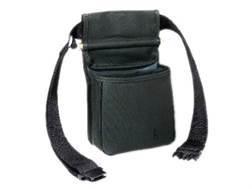 Bob Allen Divided Shotgun Shell Pouch with Adjustable Belt Nylon Black