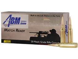 ABM Match Ready-Target Ammunition 260 Remington 140 Grain Berger Match Target Hybrid Box of 20