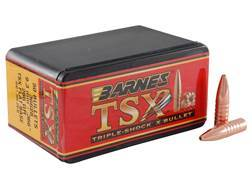 Barnes Triple-Shock X Bullets 9.3mm (366 Diameter) 286 Grain Hollow Point Flat Base Lead-Free Box...