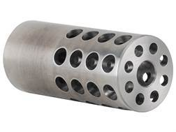 "Vais Muzzle Brake Varmint 264 Caliber, 6.5mm 5/8""-32 Thread .875"" Outside Diameter x 2"" Length Steel"