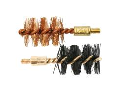 Otis Shotgun Bore Brush 8x32 Thread Bronze and Nylon Package of 2