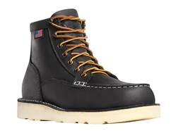 "Danner Bull Run Moc Toe 6"" Steel Toe Work Boots Leather"