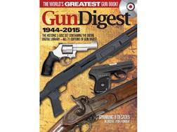 """Gun Digest 1944-2015 3-Disc Set"" CD-ROM"