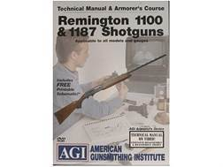 "American Gunsmithing Institute (AGI) Technical Manual & Armorer's Course Video ""Remington 1100 & ..."